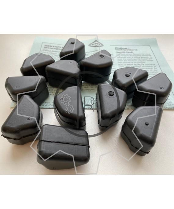 CF-D-198 - SET of rubber elements Shore 60 NBR  - CENTAFLEX D 198 - Original / genuine CENTA product