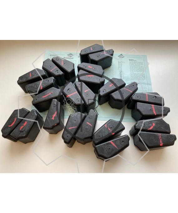 CF-D-560 - SET of rubber elements Shore 75 NBR / CENTAFLEX D 560 - Original / genuine CENTA product