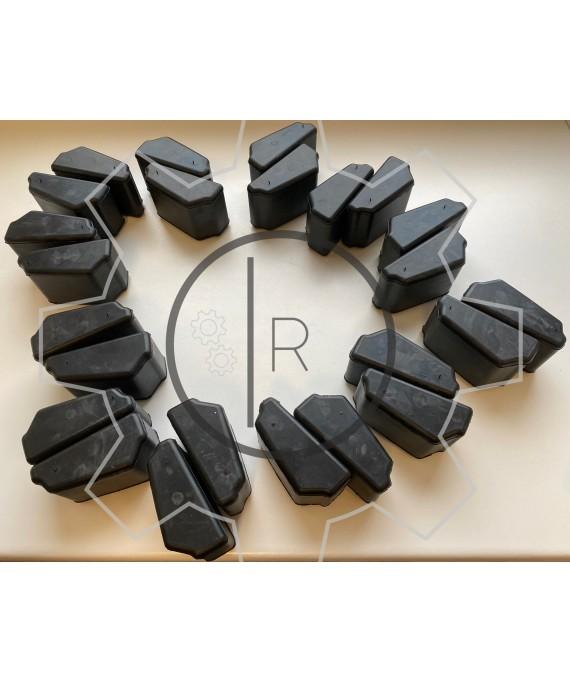 CF-E-560 - SET of rubber elements Shore 60 NBR / CENTAFLEX E 560 - Original / genuine CENTA product