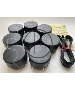 CF-R-178 rubber roller set - Centaflex Type R Size 178 rubber roller set _ Original - genuine CENTA product