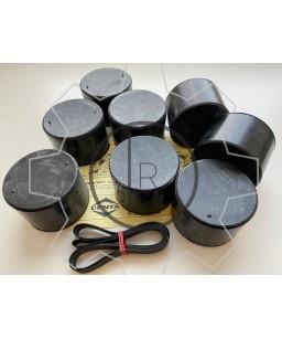 CF-R-268 rubber roller set - Centaflex Type R Size 268 rubber roller set _ Original - genuine CENTA product