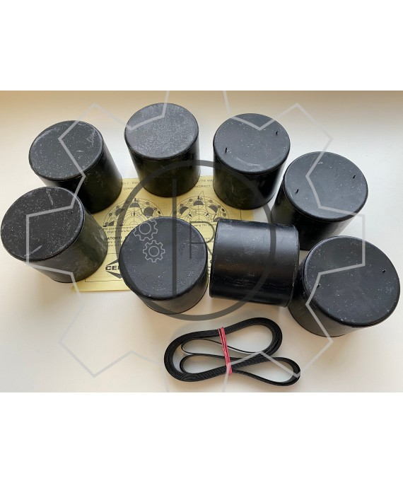 CF-R-318 rubber roller set - Centaflex Type R Size 318 rubber roller set _ Original - genuine CENTA product