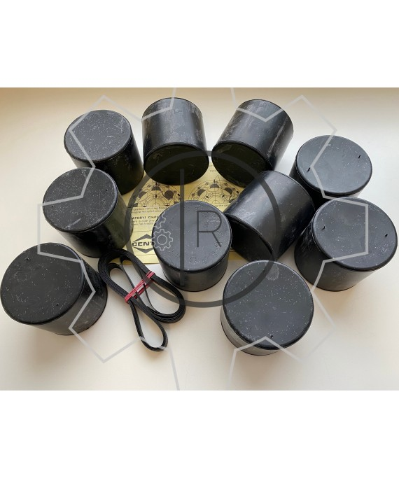 CF-R-420 rubber roller set - Centaflex Type R Size 420 rubber roller set _ Original - genuine CENTA product