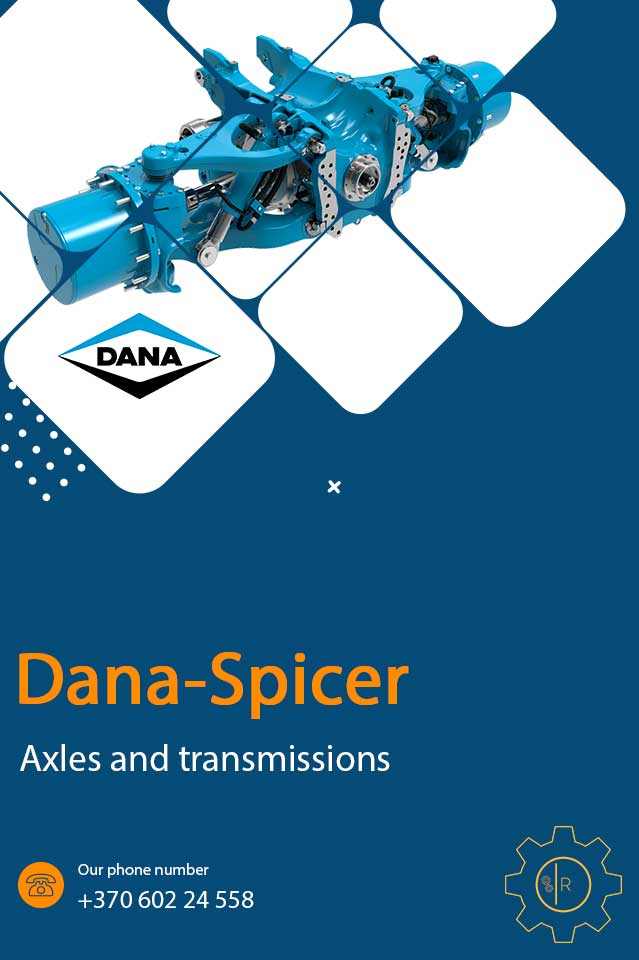 Dana-Spicer Axles and transmissions